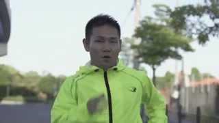 高山勝成選手ロードワーク