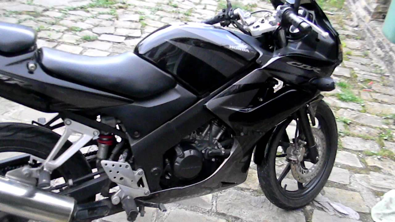 honda cbr 125 rw 7 2008 walk around youtube. Black Bedroom Furniture Sets. Home Design Ideas