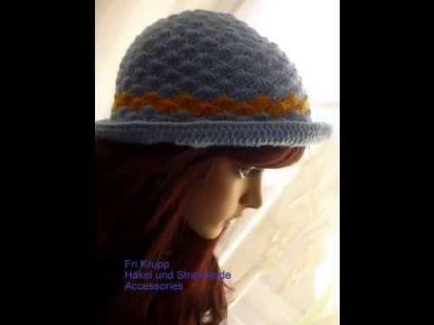 Hut - Hat - Chapeu - croche - häkeln -Hand gemacht - by Fri Krupp ...