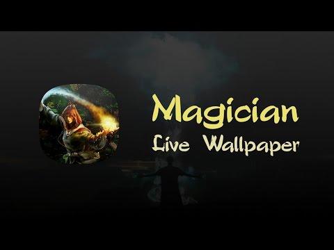 Magician Free Live Wallpaper 1