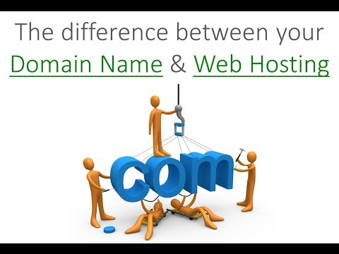 What Is The Difference Between Domain Name And Hosting?