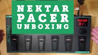 Nektar Pacer unboxing and quick programming