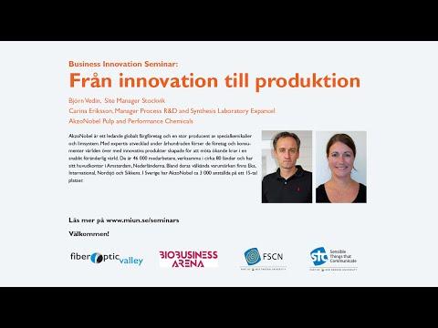 Från innovation till produktion