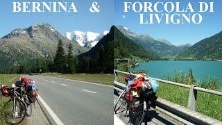 Forcola di Livigno & Passo del Bernina / Berninapass: 2000 m+ cycling collection / 2000m+ bringával