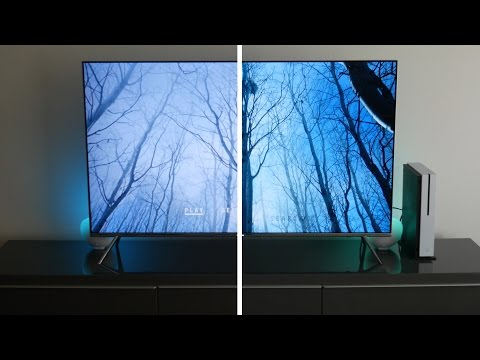 Xbox One S 4K HDR Ultra-HD Blu-Ray Test (Samsung KS8000)