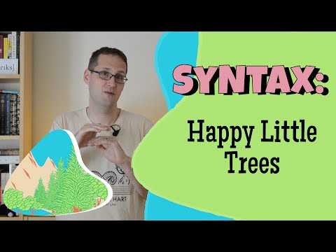 Syntactic Trees and X' Theory