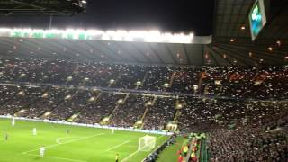 What an atmosphere at Celtic Park - Minute 67 Celtic Barcelona