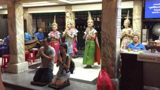 Traditional Dancing Four Face Buddha - Bangkok Thailand