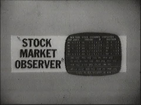WCIU Channel 26 - Station Sign-On and The Stock Market Observer (Excerpt, 1971)