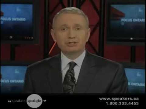 Host of Focus Ontario & Global TV's Queen's Park Correspondent Sean Mallen