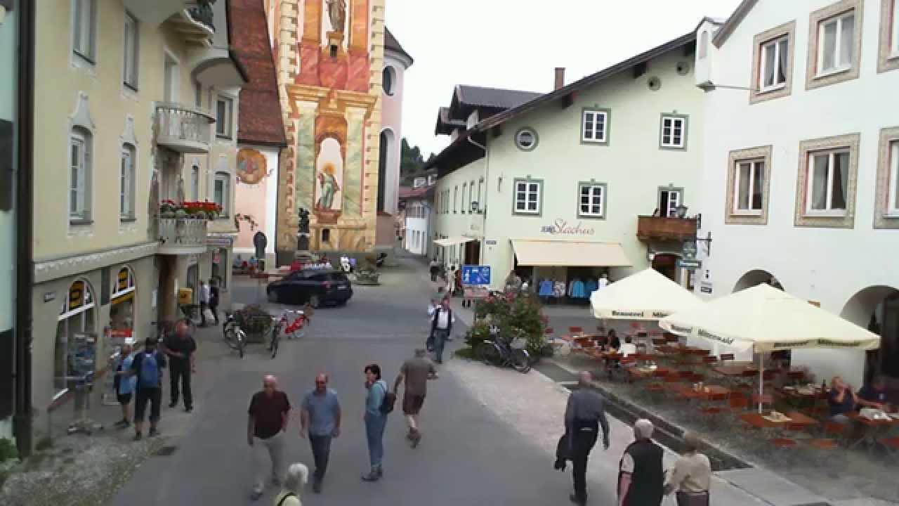 Webcam Mittenwald 19.09.2014 Obermarkt 1 Stunde YouTube