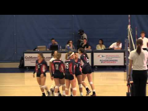 Volleyball vs Colorado Mesa - MSU Denver