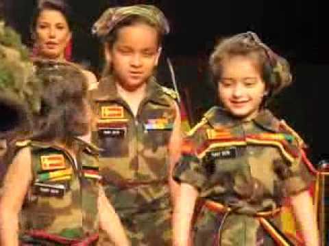 Best Child Participant Girisha in Wills Lifestyle India Fashion Week Autumn Winter 2010 Ritu Beri