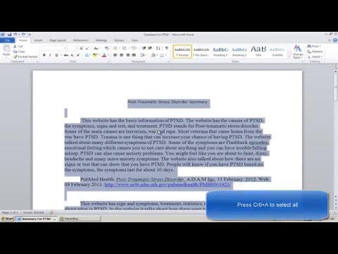 """How to double Space in Microsoft Word 2010"""