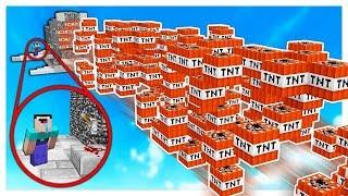 LE PLUS GRAND TNT WARS YOUTUBER MINECRAFT AU MONDE
