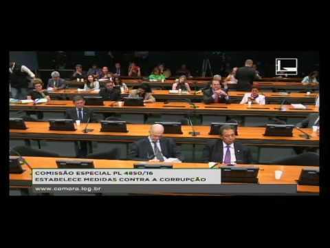 PL 4850/16 - ESTABELECE MEDIDAS CONTRA A CORRUPÇÃO - Reunião Deliberativa - 11/10/2016 - 09:59