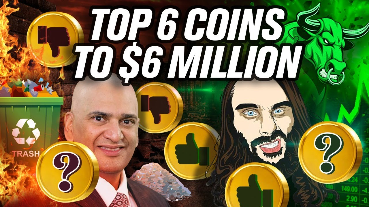 Teeka Tyler's Top 6 Coins to $6 Million Dollars (Tiwari👎)