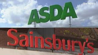 Sainsbury's and Asda in talks over shock £10bn merger   ITV News