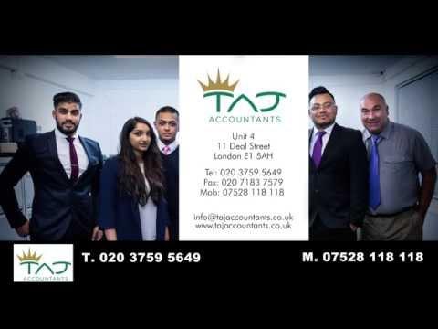Taj Accountants TV Advert | Small Business Accountants | Accountant London | East London