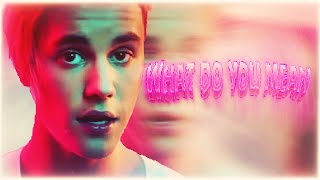 JUSTIN BIEBER WHAT DO YOU MEAN ПЕРЕВОД (RUS SUB)