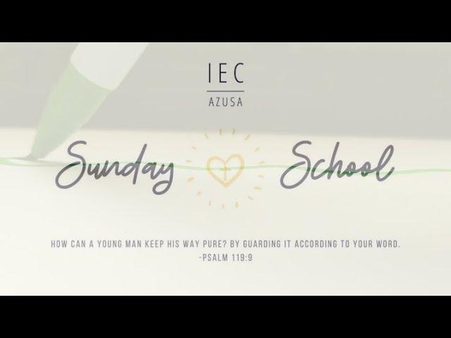 2020.05.31 5:00 PM | IEC Azusa Sunday School Art Time (1st-8th)