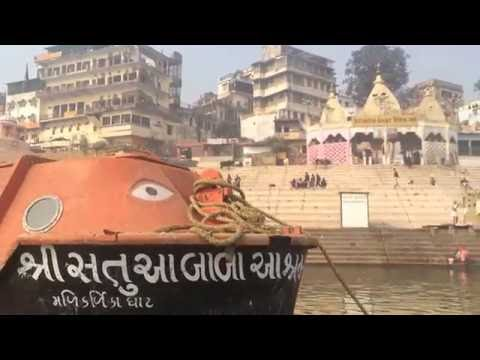 India Trip 2014: Ganges Boat Ride, Varanasi. India