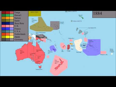The History of Oceania: Every Year