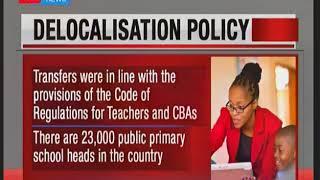 KNUT faults CS Matiangi\'s delocolization of teachers policy