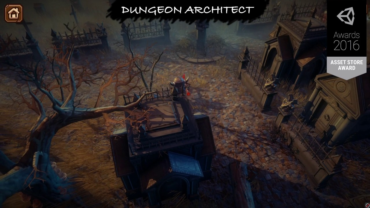 Dungeon Architect – Procedural Level Generator for Unity