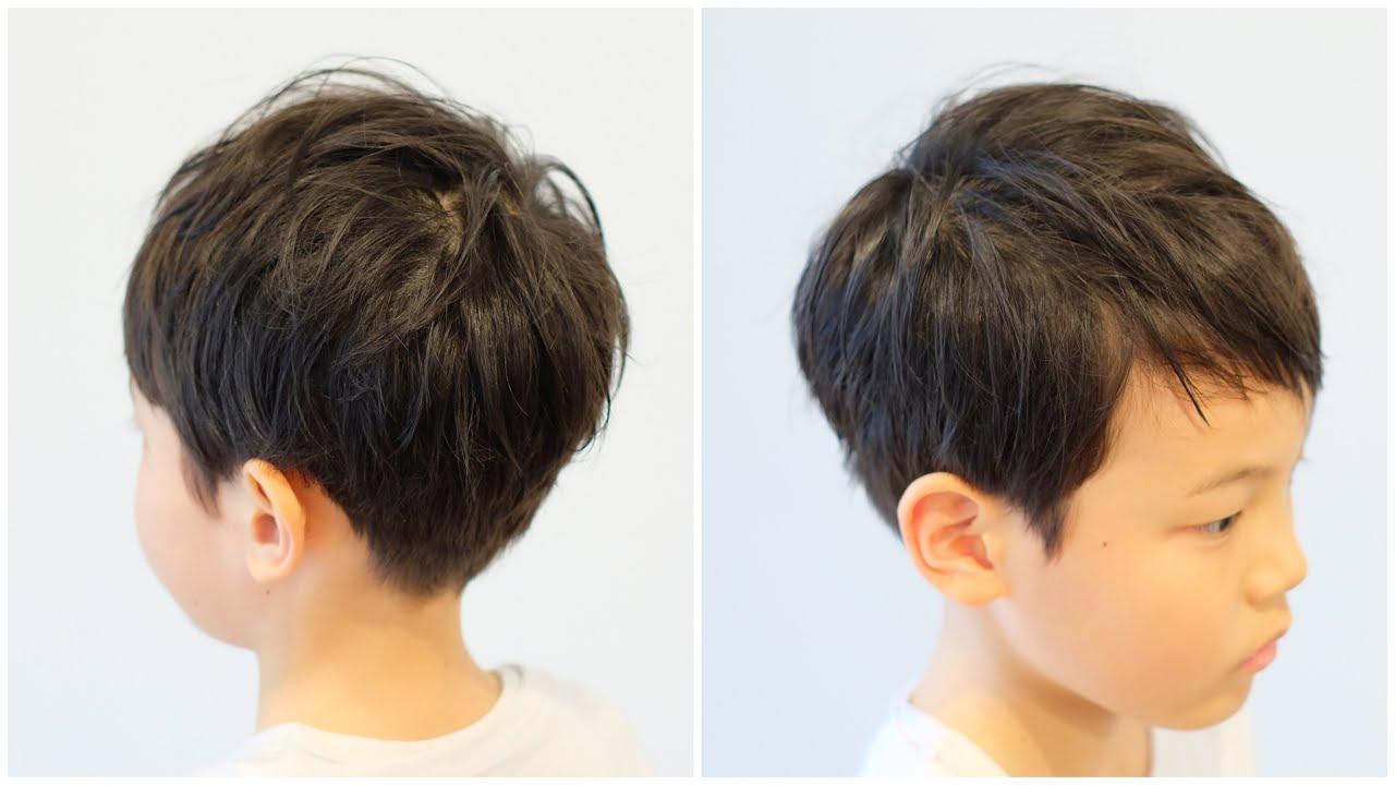 髪型 小学生 男子