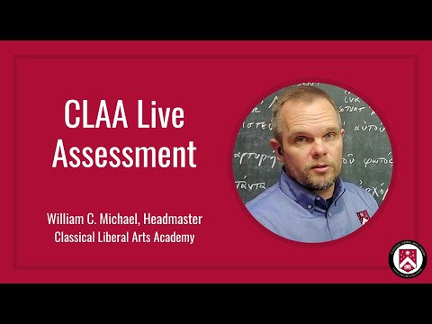 CLAA Live Assessment