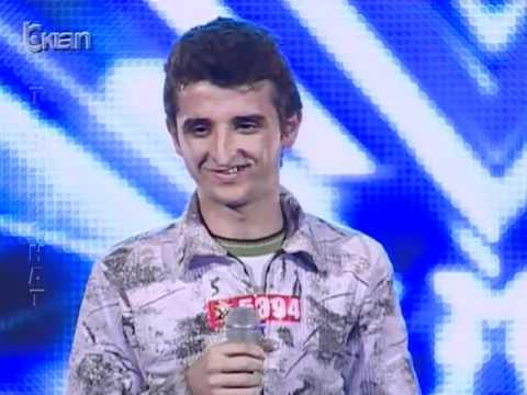 X Factor Albania - 8 Janar 2012 - Aziz Ruda