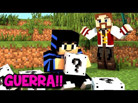 GUERRA NO CÉU COM LUCKY BLOCK BRANCO!! (c/ Nenho)
