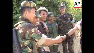 CAMBODIA: KHMER ROUGE LEADER URGES CAMBODIANS TO MAKE PEACE