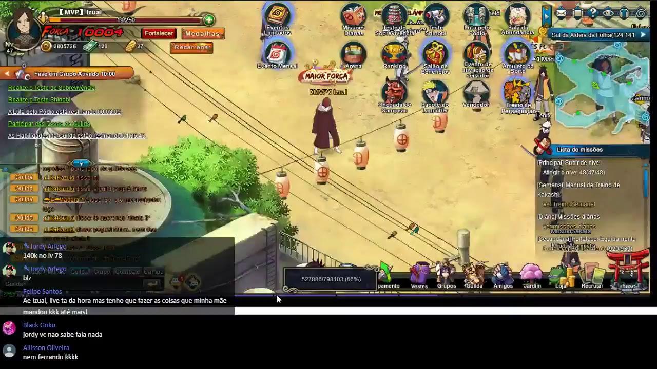 Naruto Online Server