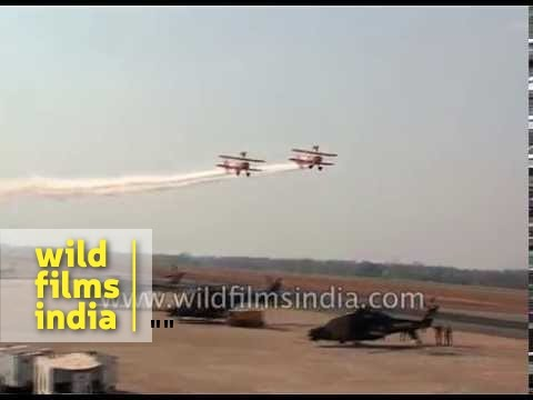 Breitling Sky Wingwalkers in India