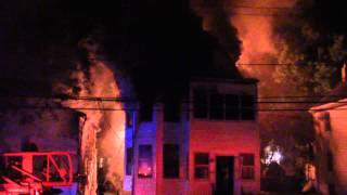 West Orange Fire Department Working 2nd Alarm (Watson Avenue) 5-22-15