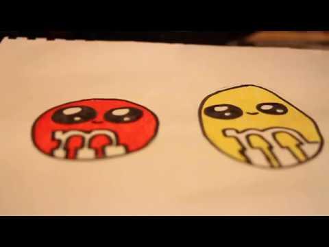 Dessiner des bonbons kawaii en 5 min youtube - Bonbon a dessiner ...