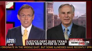 Greg Abbott Discusses Voter ID on Fox News with Eric Shawn