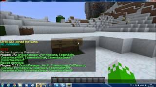 Hvordan du Laver en Bukkit Minecraft server ep.3 Permissions og Plugins