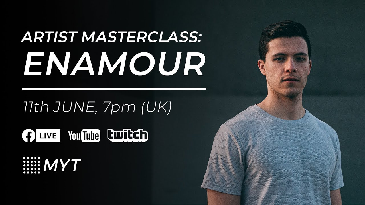 MYT Live - In The Studio with ENAMOUR (Anjunadeep!)