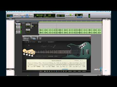 Ample Bass J Demo - Get Lucky Bass Cover