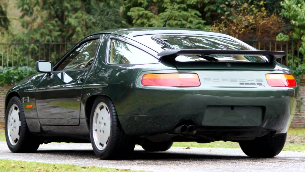1990 Porsche 928 S4 Hd Photo Video With Stereo Engine