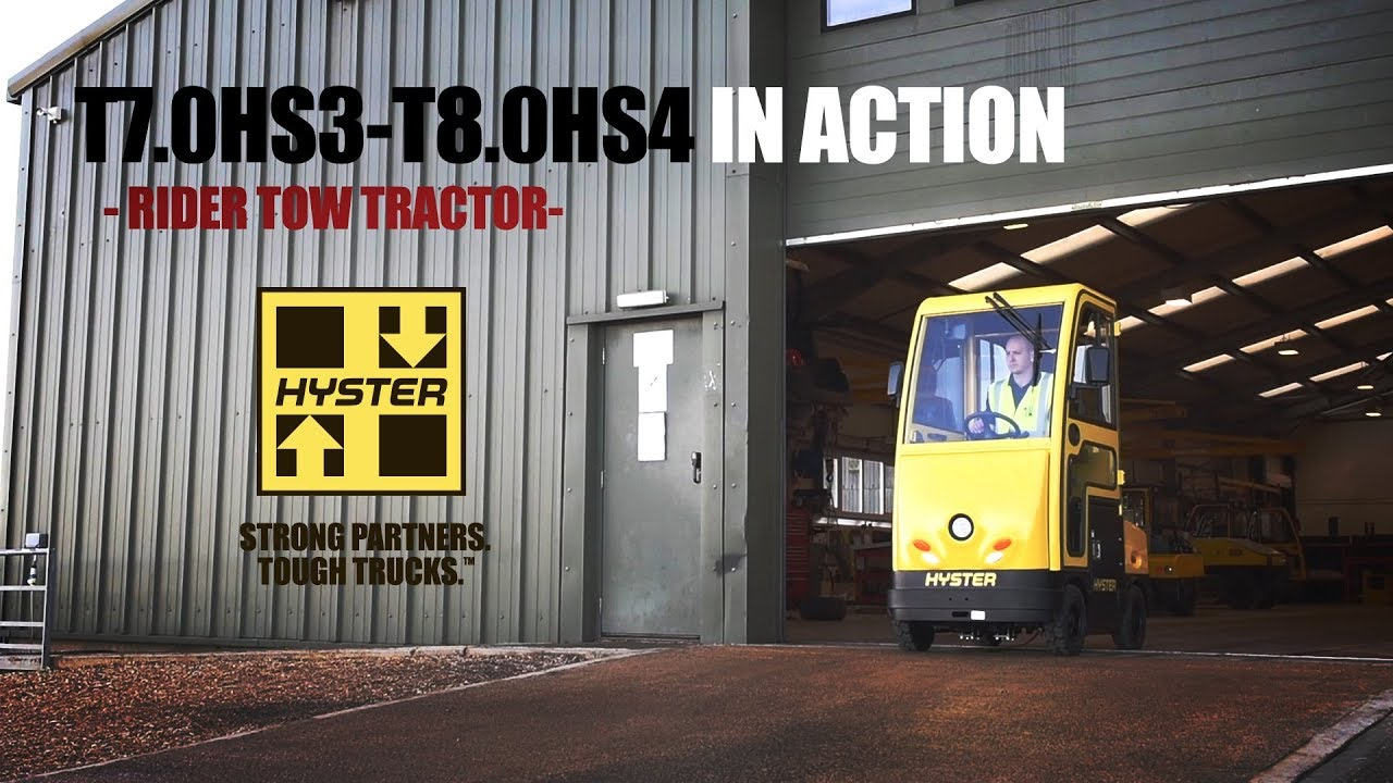Hyster - Rider Tow Tractors