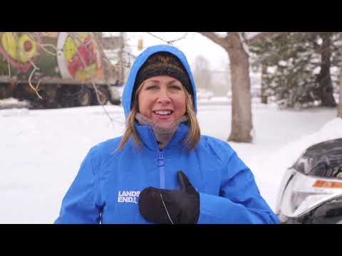 Lands' End Squall® 3 In 1 Coat: Field Tested By The Weather Channel® Field Producer Trish Ragsdale
