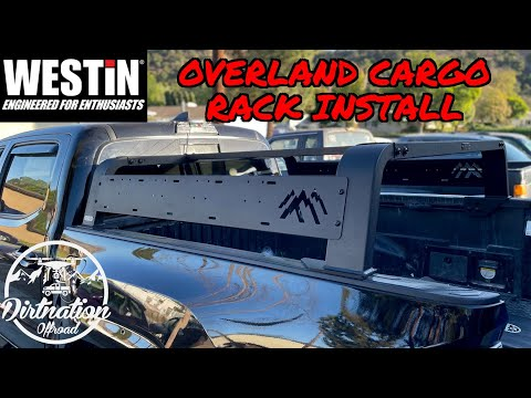 Westin Overland Cargo Rack install for our 2017 Toyota Tacoma!