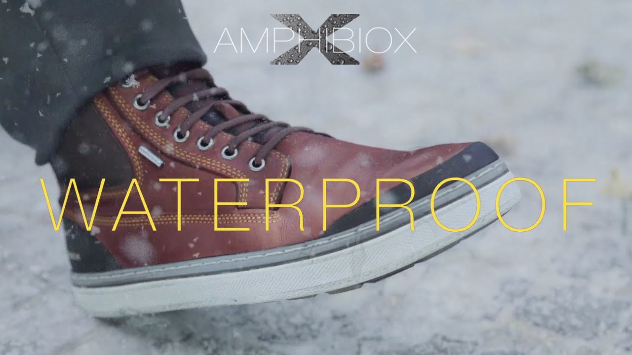 Embajador ecuación Crudo  GEOX AMPHIBIOX - Mattias: Perfect for any condition - YouTube