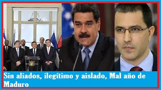 NOTICIAS DE HOY VENEZUELA 06 DE ENERO 2019 | Sin aliados, ilegítimo y aislado, Mal año de Maduro !