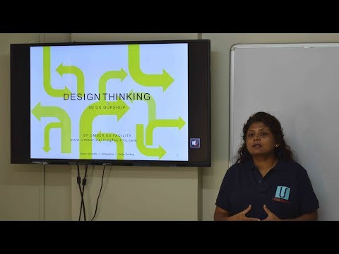 Design Thinking Workshop at Umber Learning Facility , pune