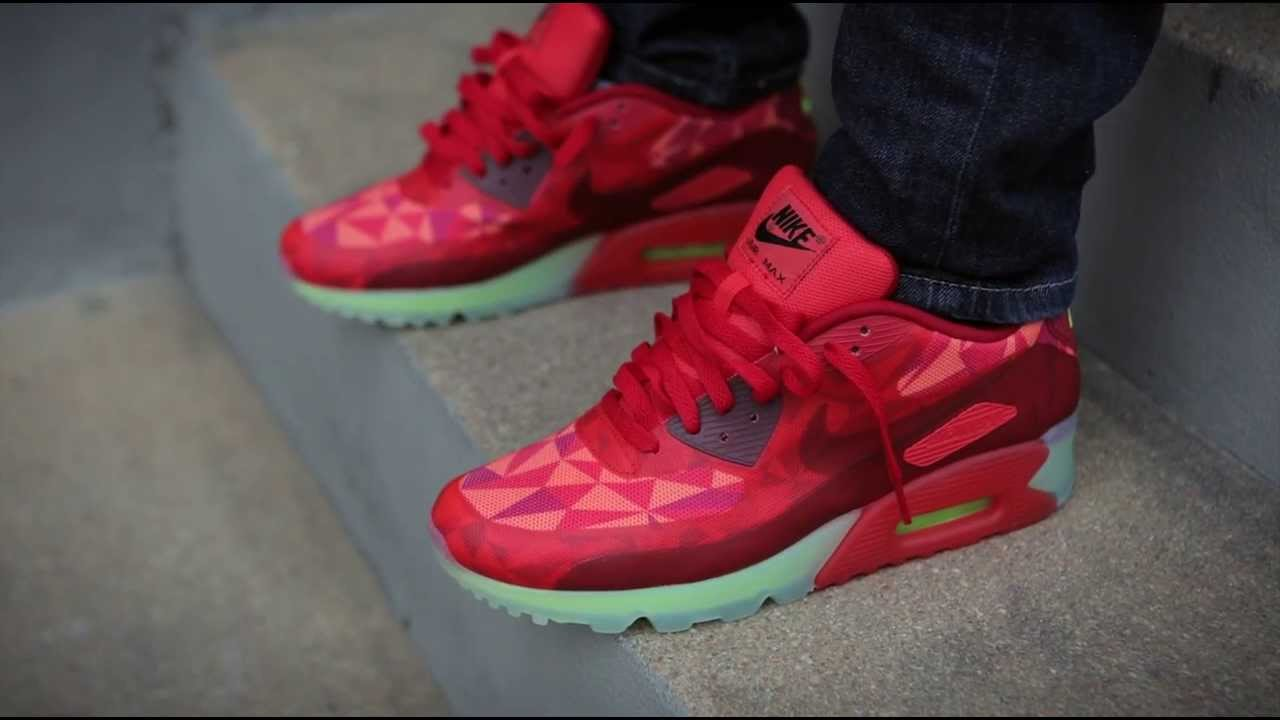 online retailer c2219 3febe air max 90 ice red